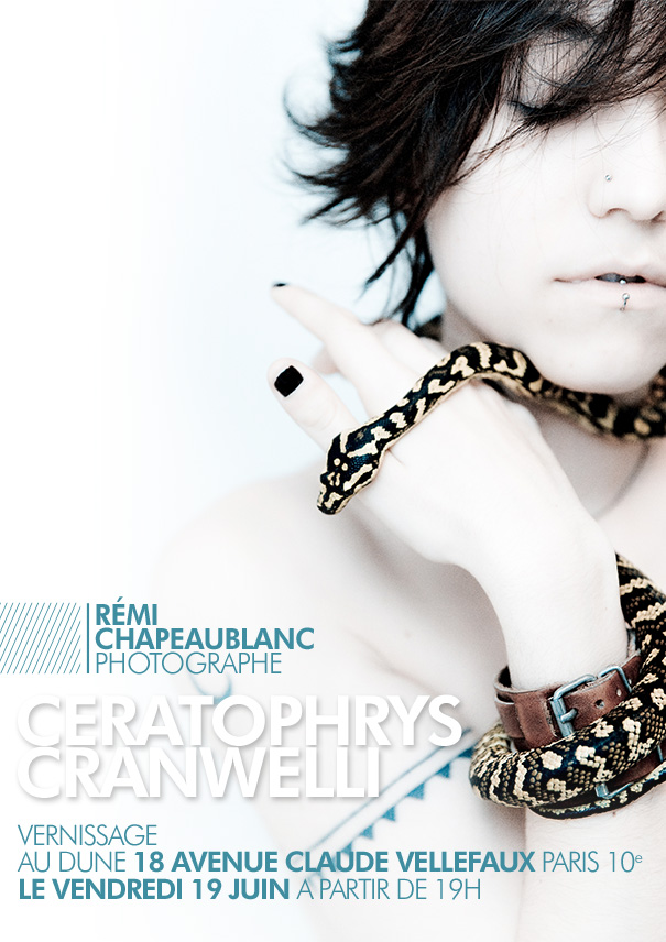 Exposition / Vernissage de Remi Chapeaublanc : Ceratophrys Cranwelli