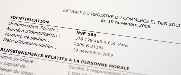 nsf56k kbis