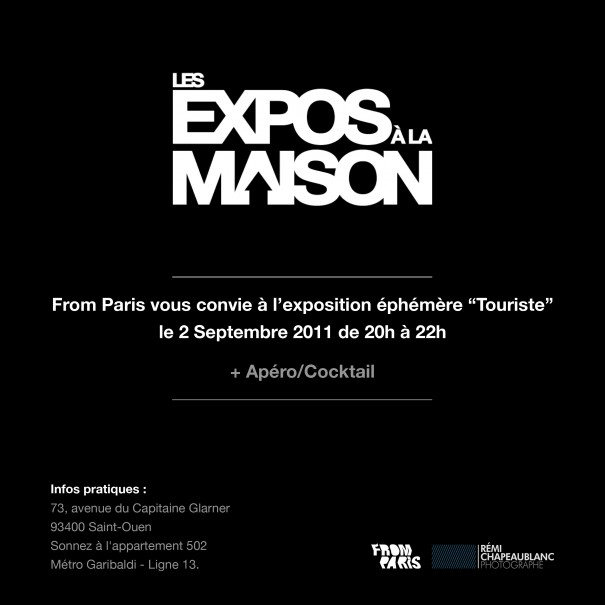 Invitation Expo à la Maison