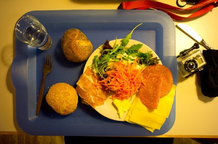 Premier repas en Allemagne