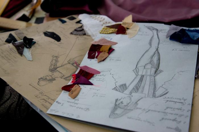 Costumes et couturières