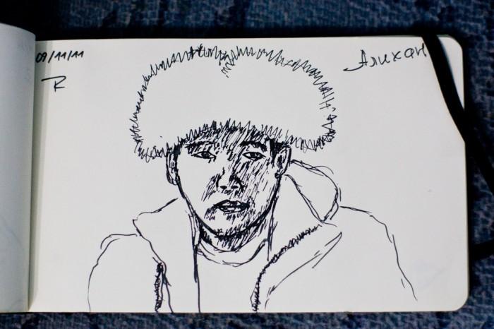 Quelques portraits Kazakhs