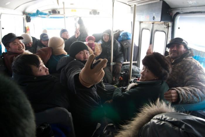 le bus mongole