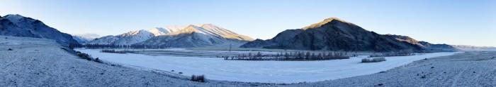 Le froid en Mongolie
