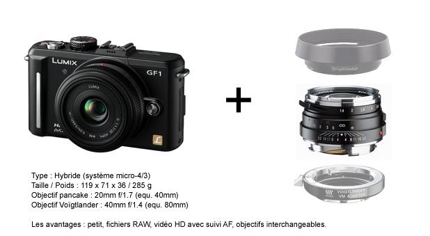 Lumix GF1 et Nokton 40mm