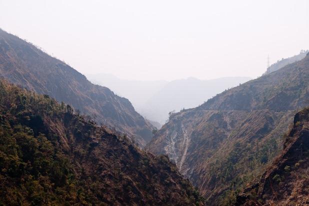 Traversée du népal en moto