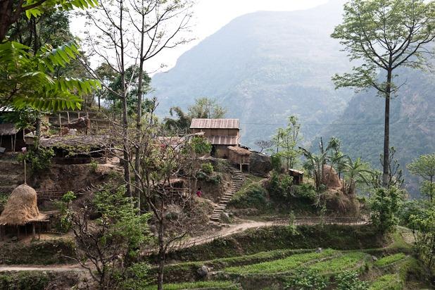 2 premiers jours du tour des Annapurnas