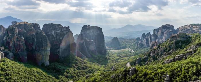 Les monastères des météores