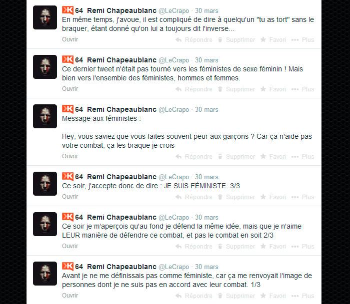Origine du clash Twitter