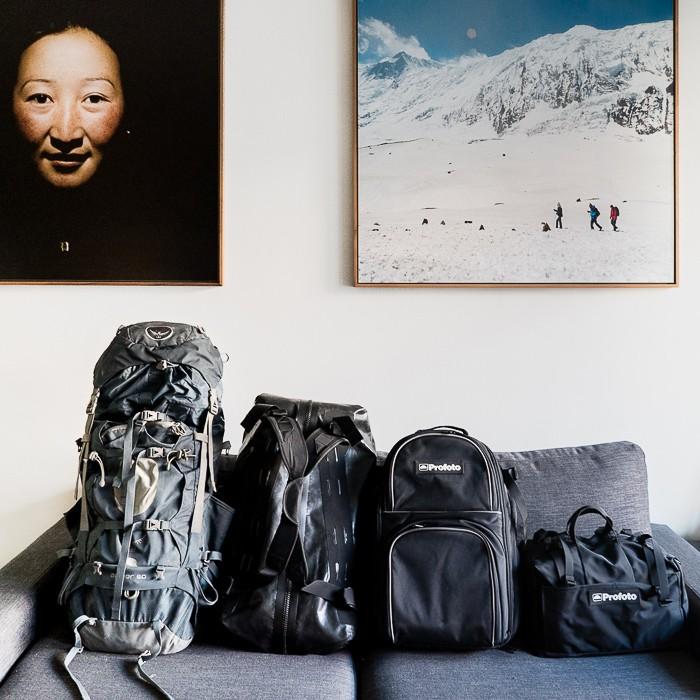 Choix du sac pour le Laos